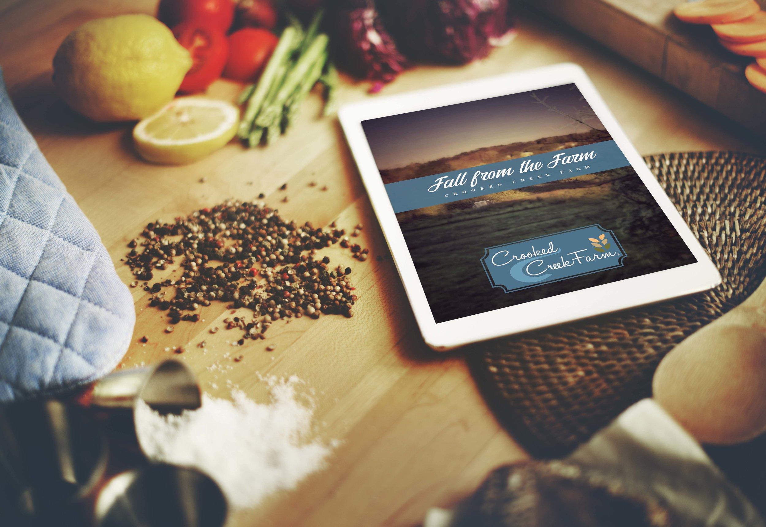 Crooked Creek Farm Cookbook Fall