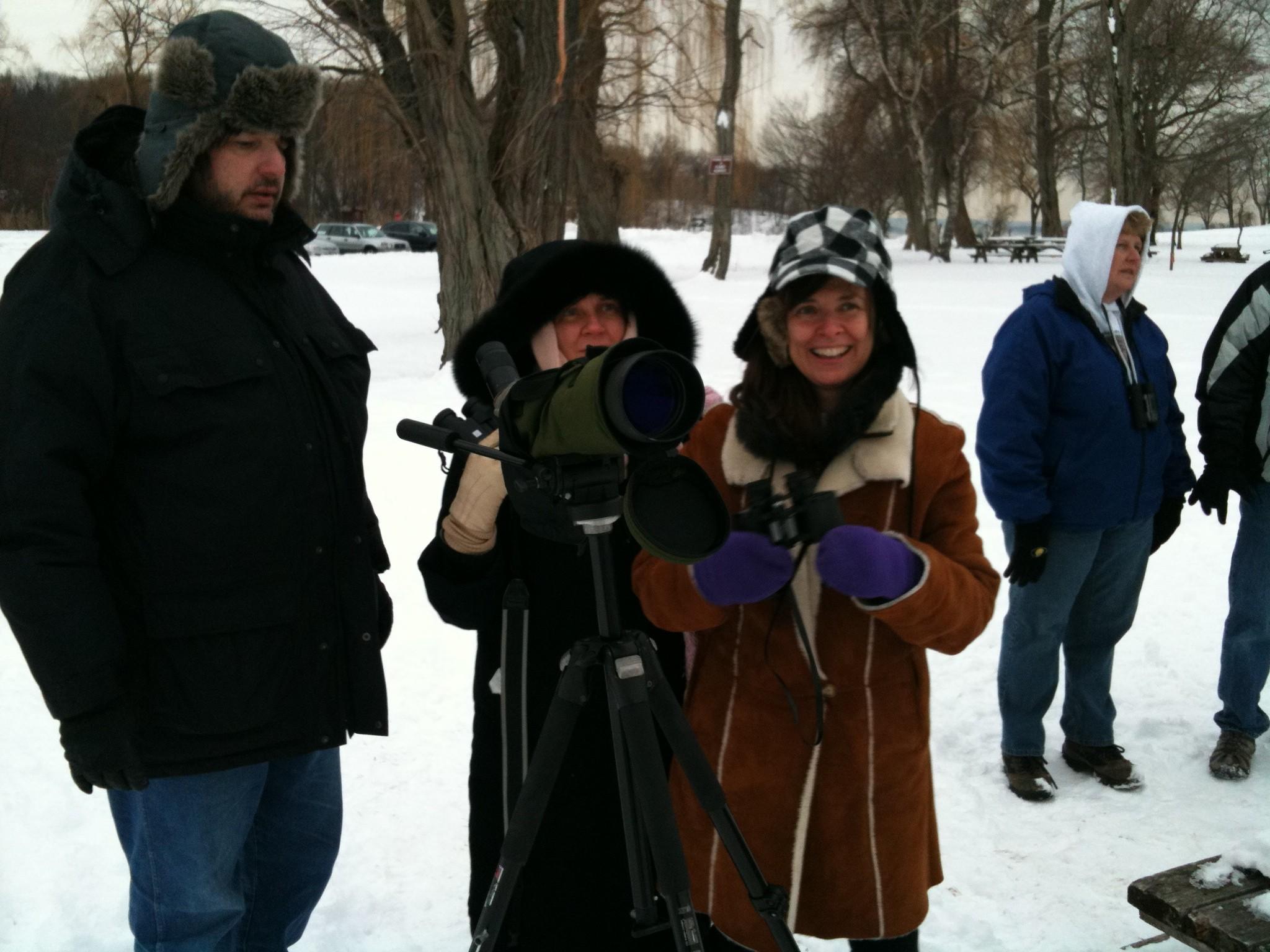 Mitch, Olga, and Helen