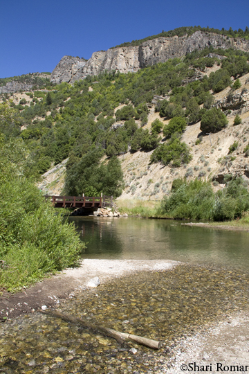 3rd Dam, Logan Canyon - Wasatch National Forest