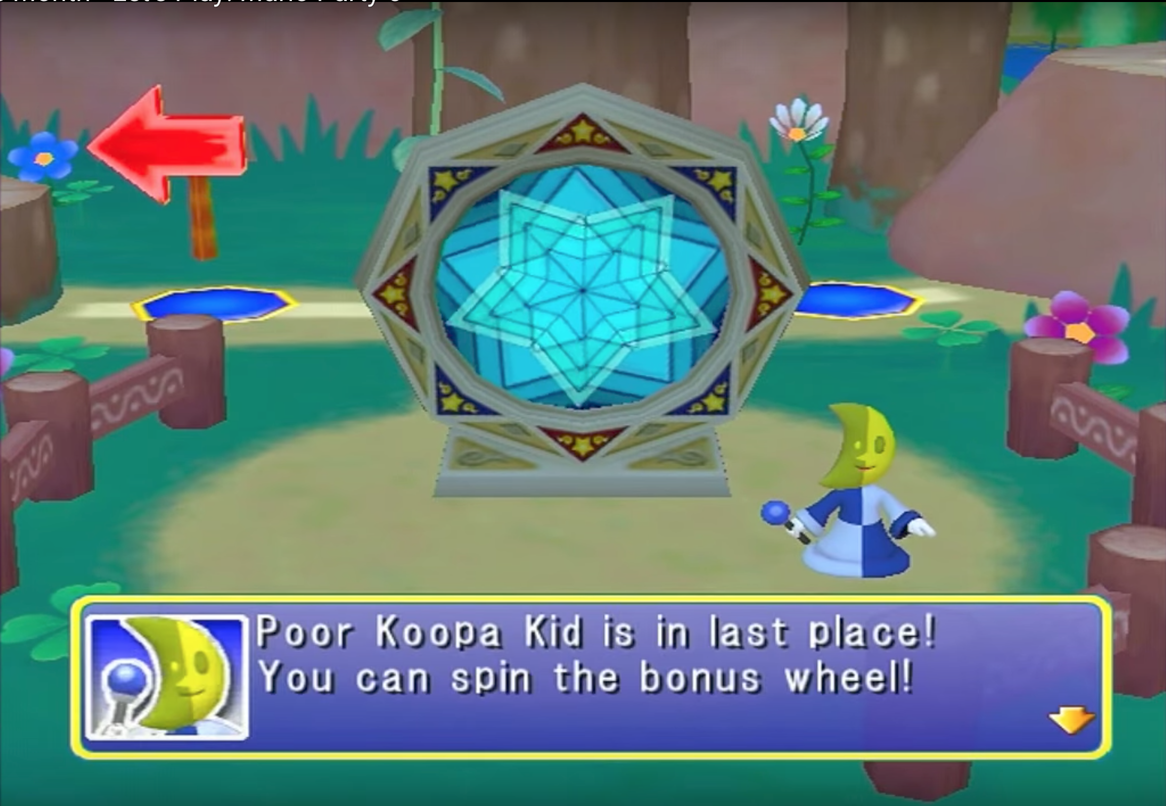 - Not pictured: Koopa Kid, the receiver of the sorry ass-beating that led to this screen in the first place.Image: TheBitBlock on YouTube