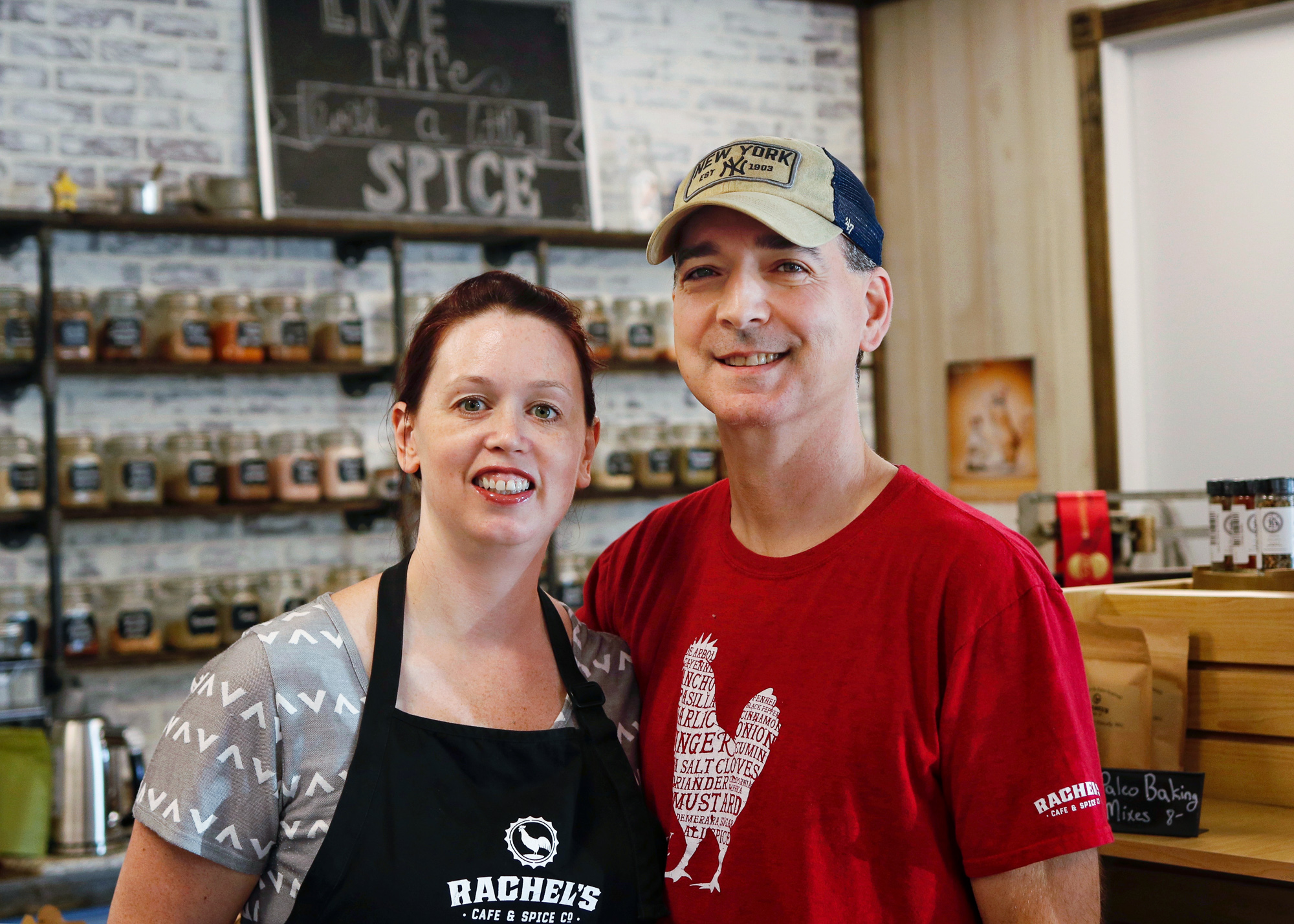 Rachel and Dave Dutra - Rachel's Cafe and Spice Co
