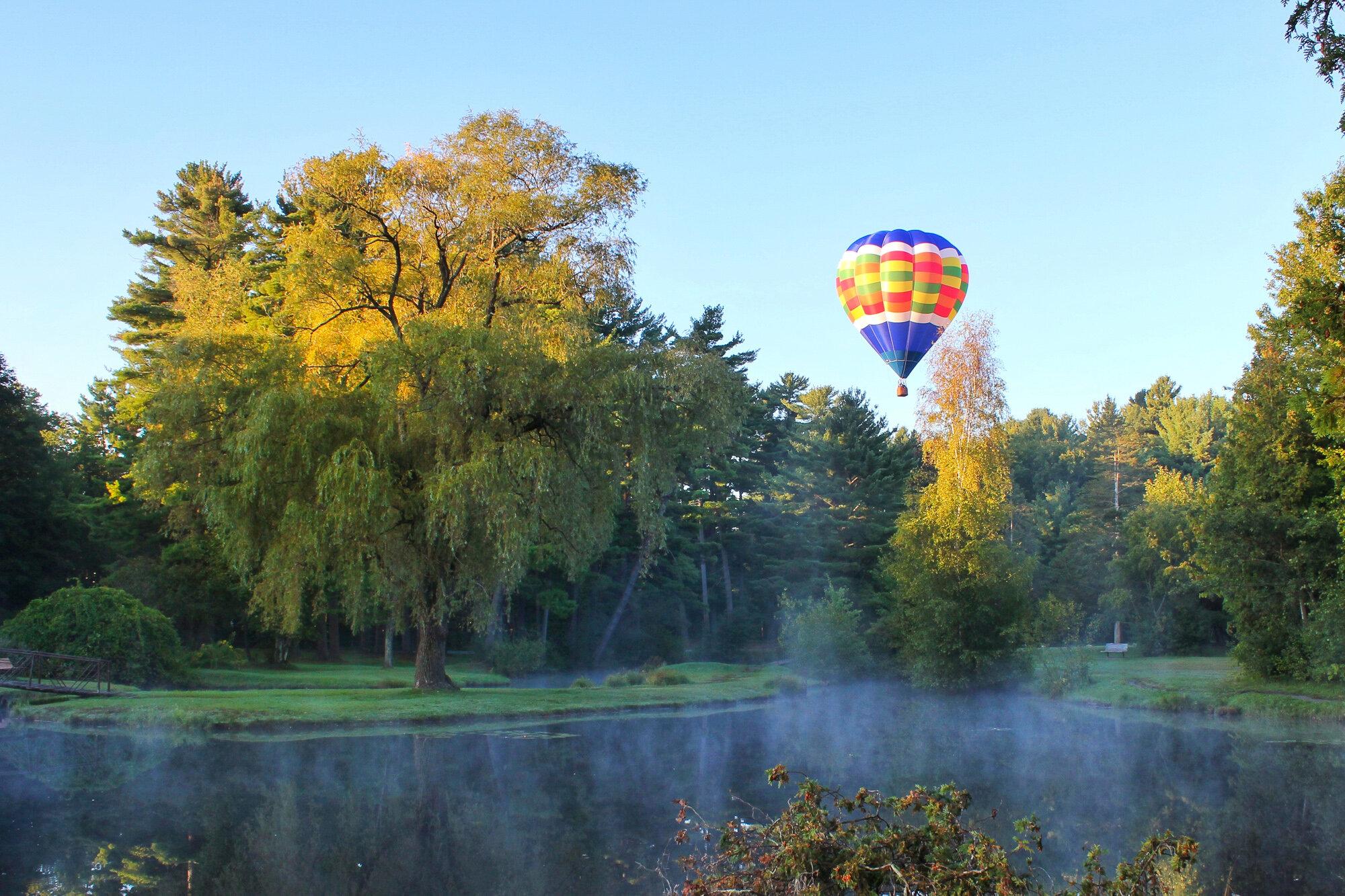 Hot Air Balloon Crandall Park Glens Falls