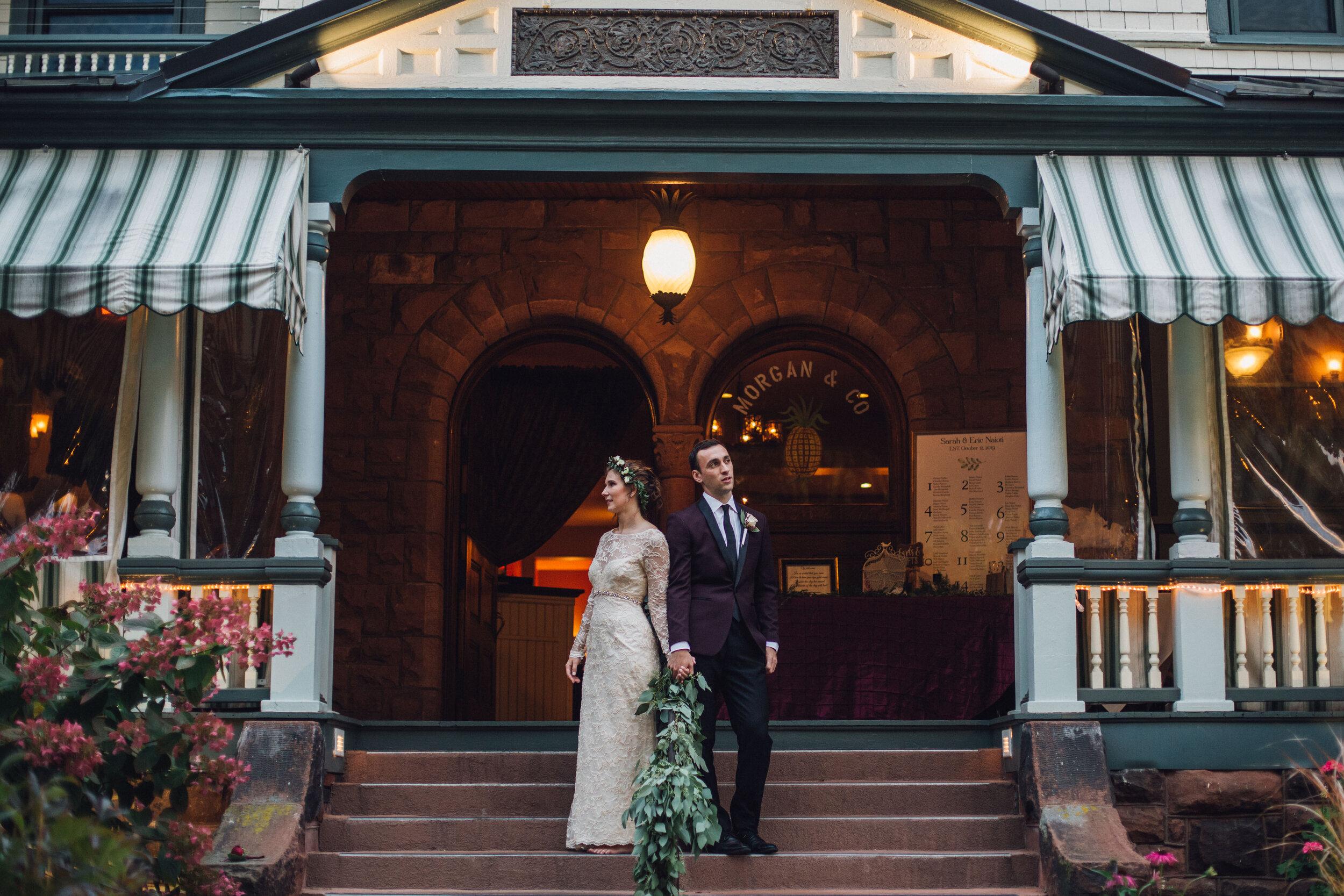 Just Married Sarah Reeves And Eric Naioti Glens Falls Living