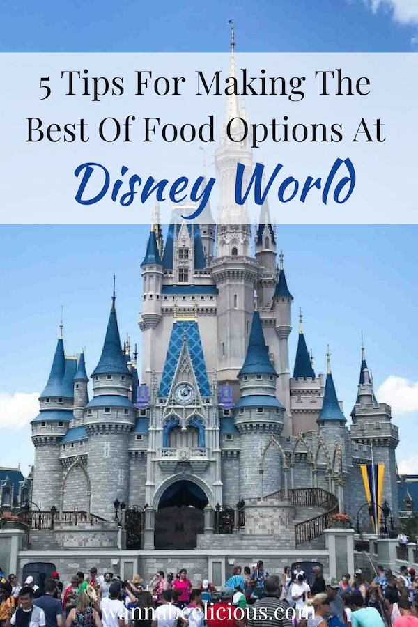 5 Tips for Making the Best of Food Options at Disney World | wannabeelicious