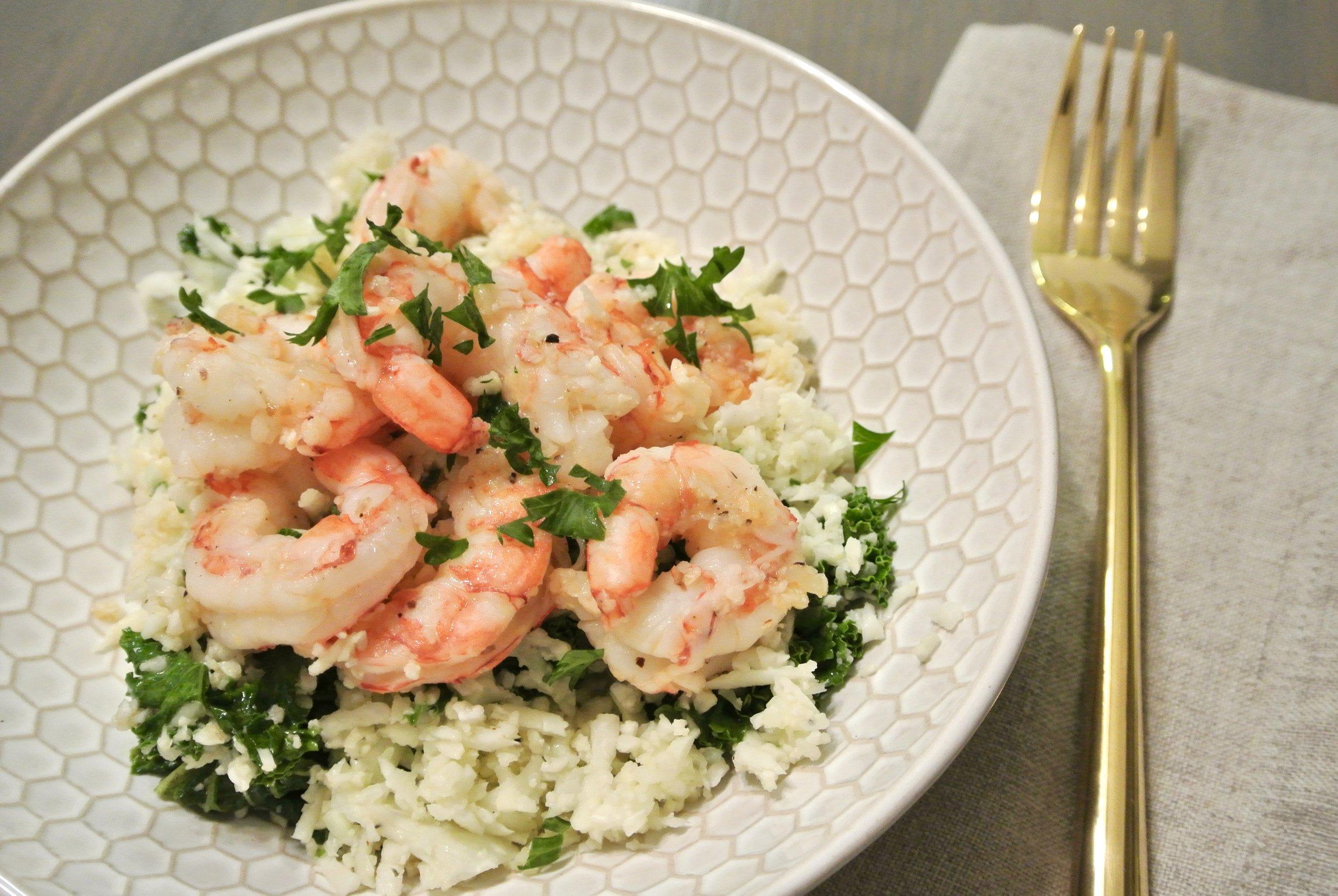 One Pot Shrimp Scampi I'd Eat That Food