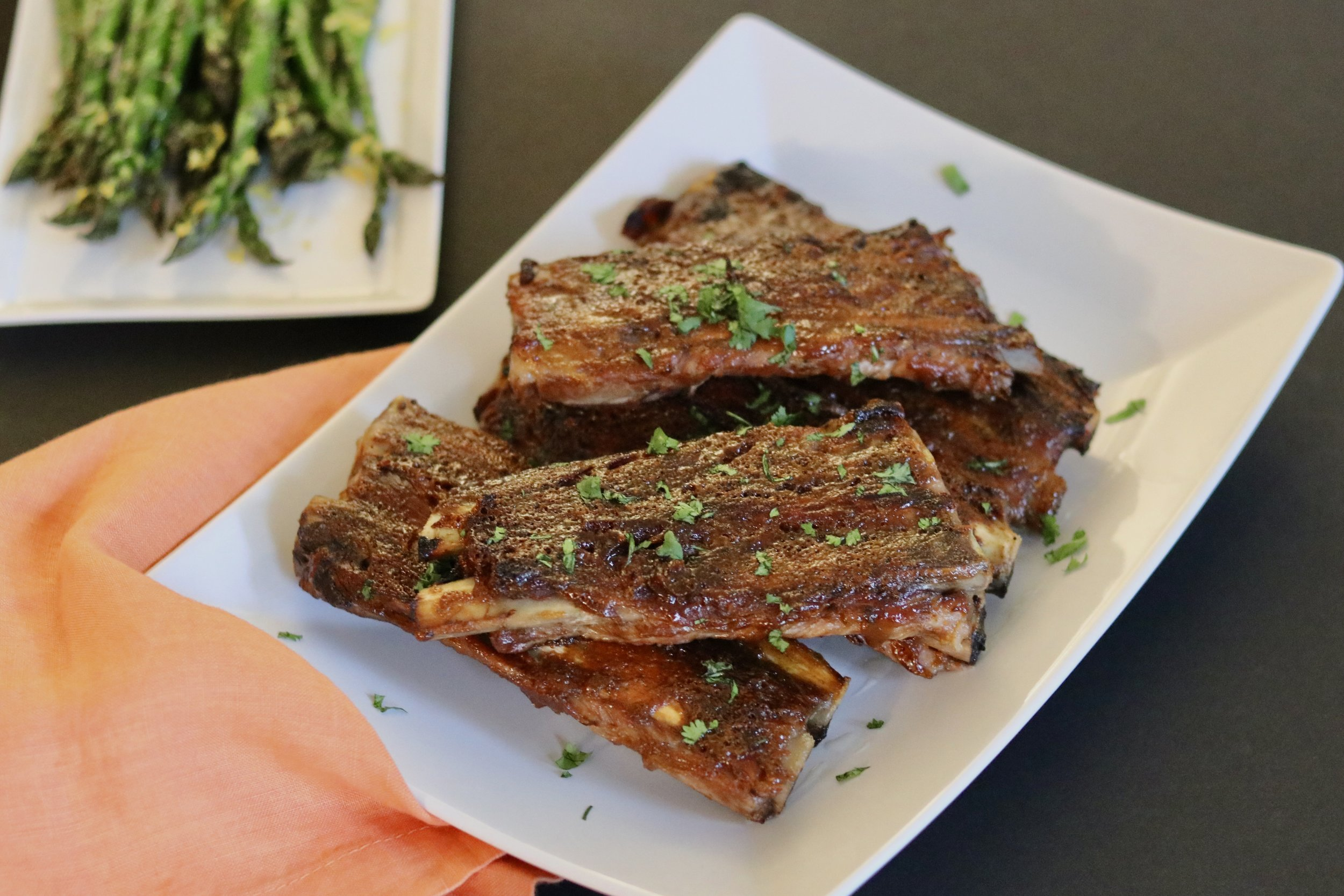 Slowcooker Maple Mustard Ribs I'd Eat That Food