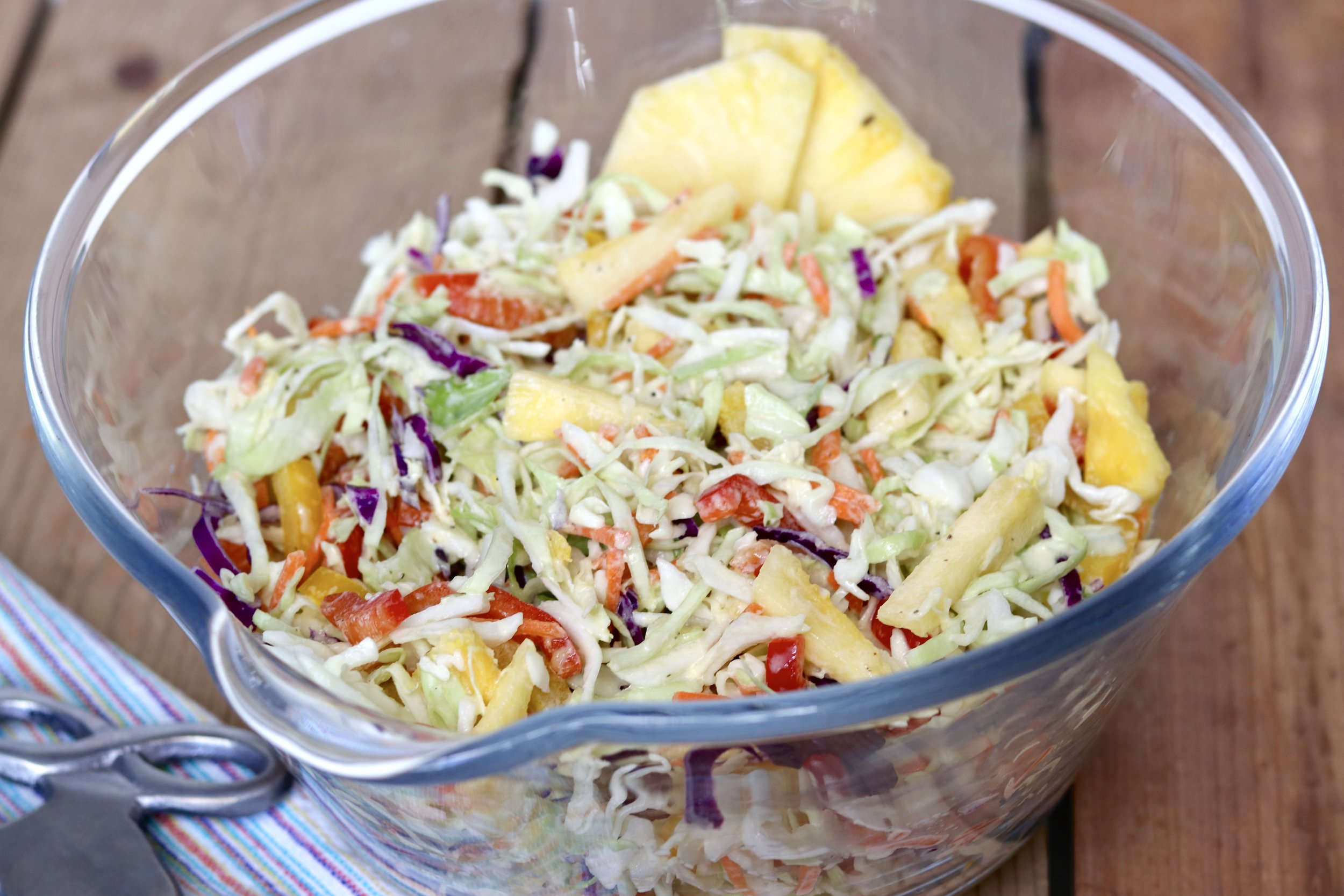 Pineapple Coleslaw I'd Eat That Food