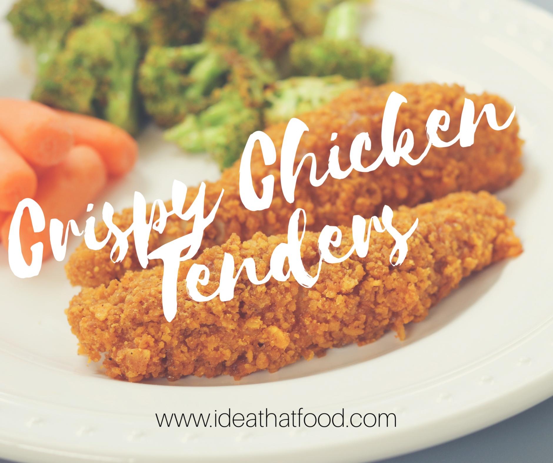 Crispy Chicken Tenders I'd Eat That Food