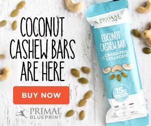 Primal Kitchen Coconut Cashew Bars I'd Eat That Food