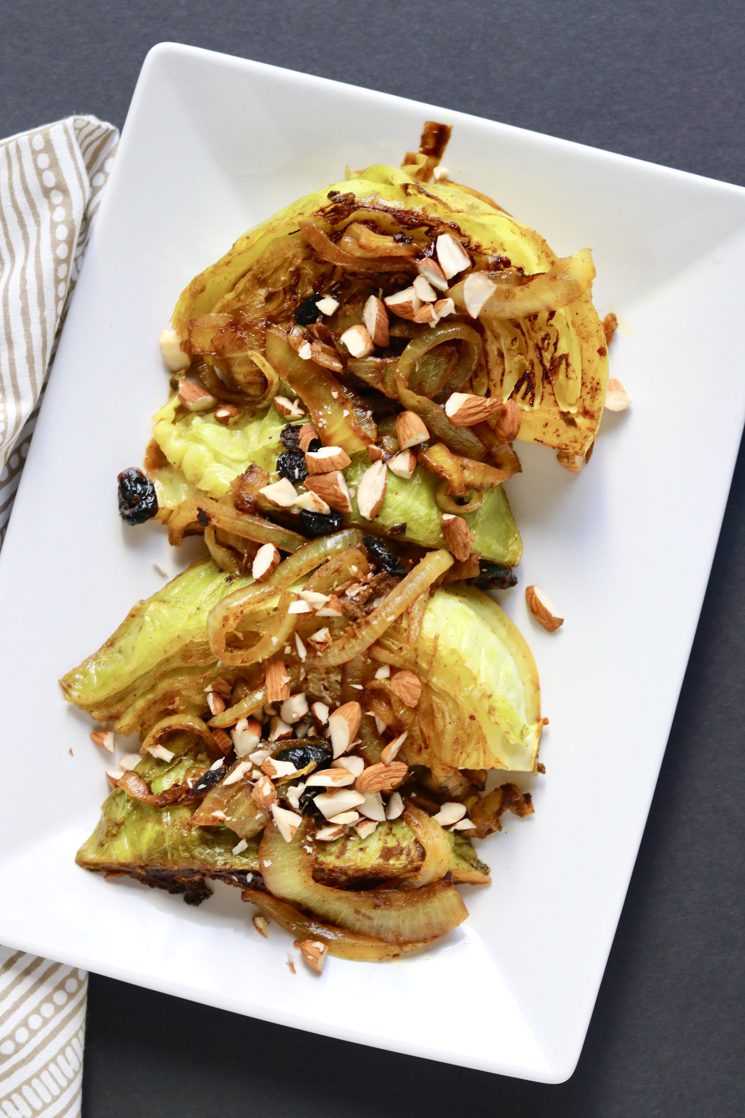 Curried Cabbage and Caramelized Onions I'd Eat That Food