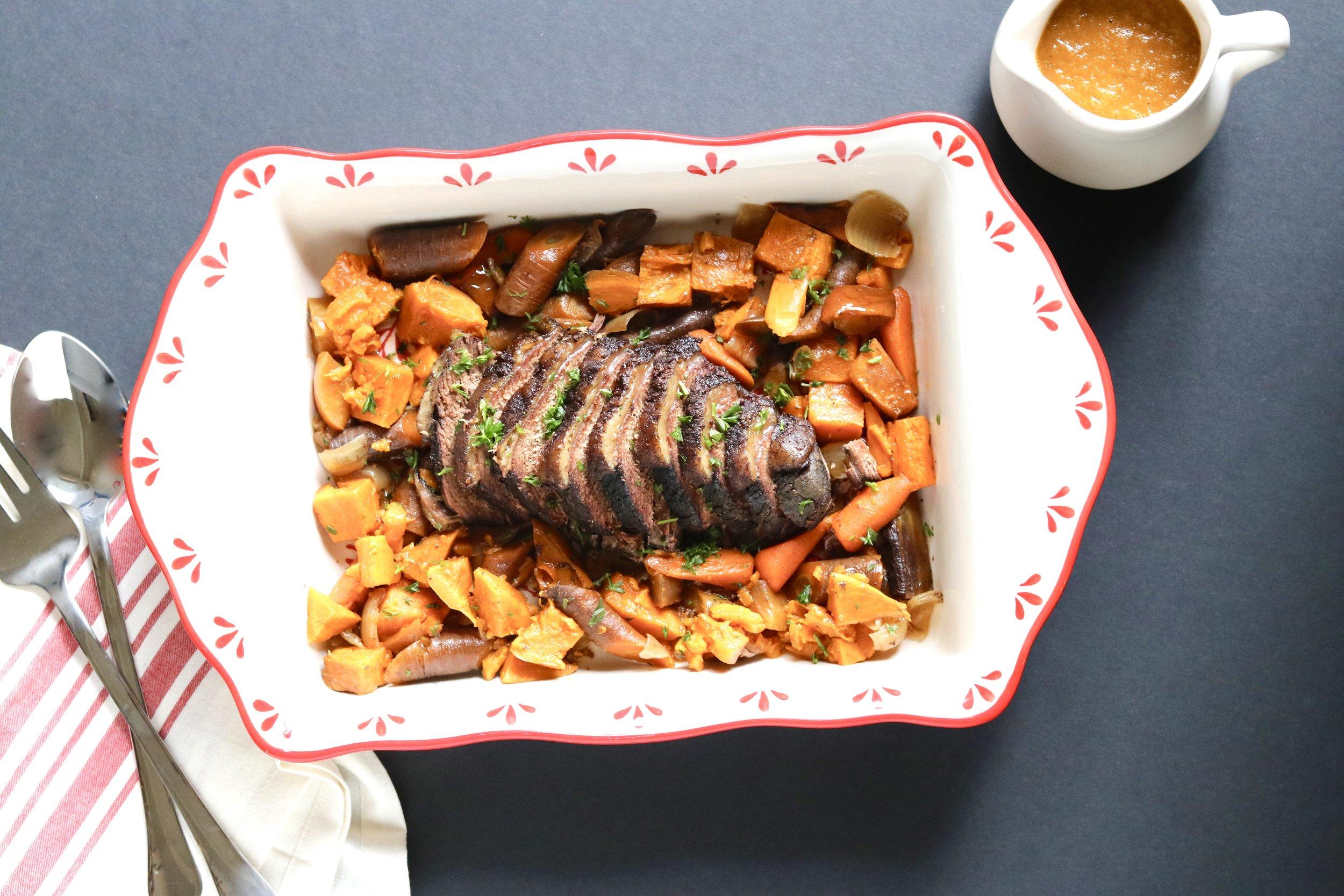 Slowcooker Christmas Roast I'd Eat That Food