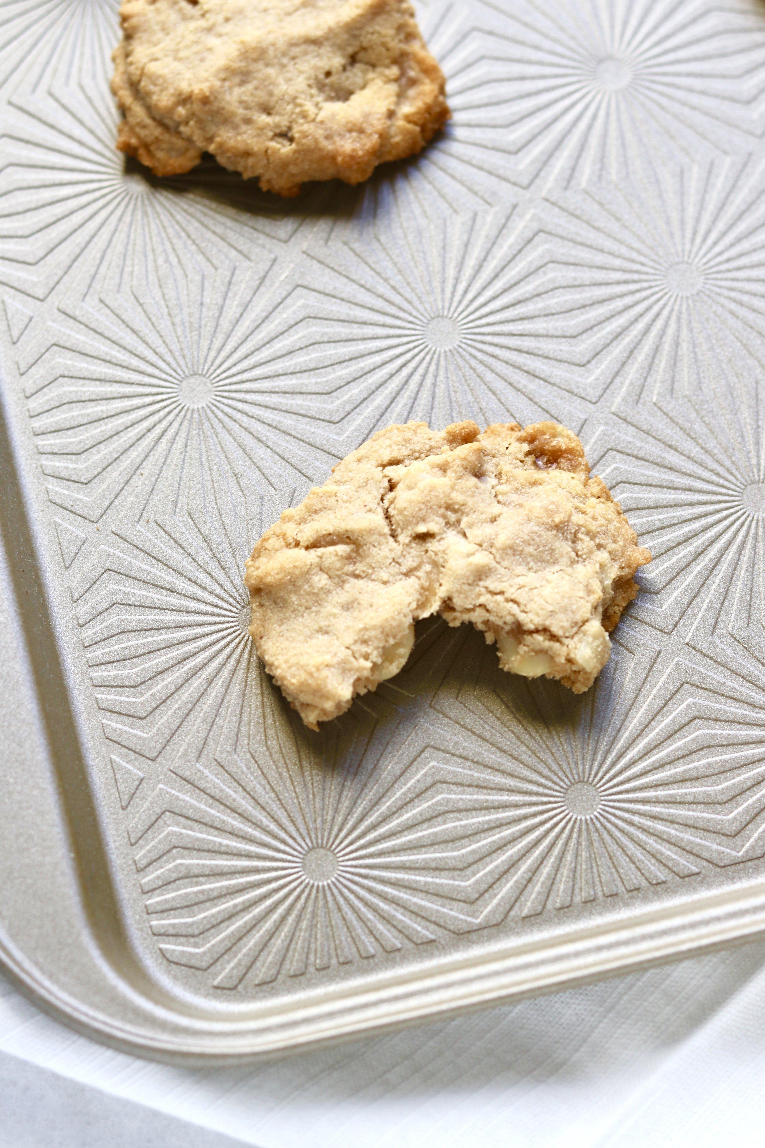 White Chocolate Macadamia Nut Cookies I'd Eat That Food