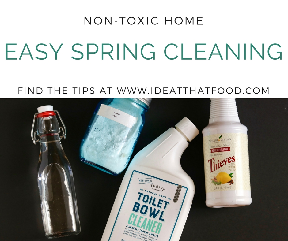 Non-Toxic Spring Cleaning with 4 Natural Products by I'd Eat That Food