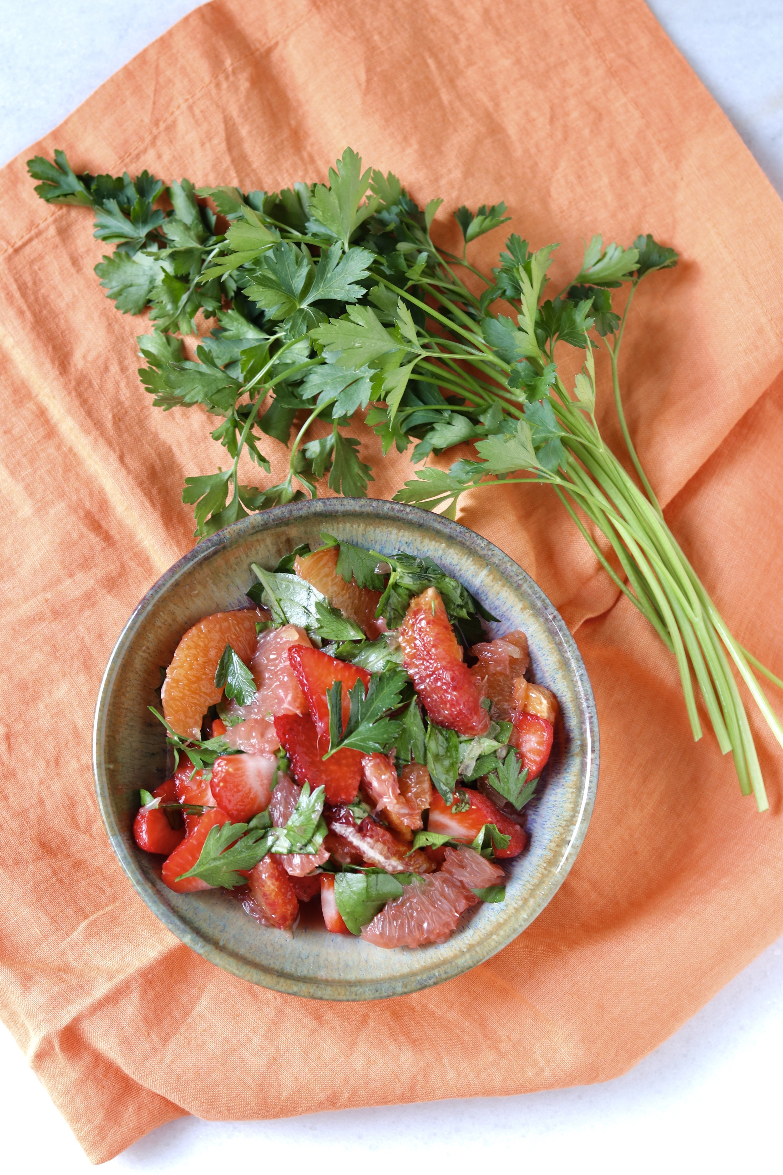 Herb and Citrus Salad by I'd Eat That Food