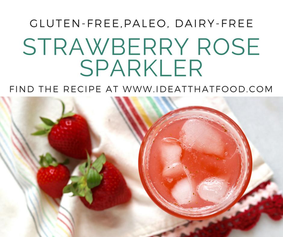 Strawberry Rose Sparkler by I'd Eat That Food