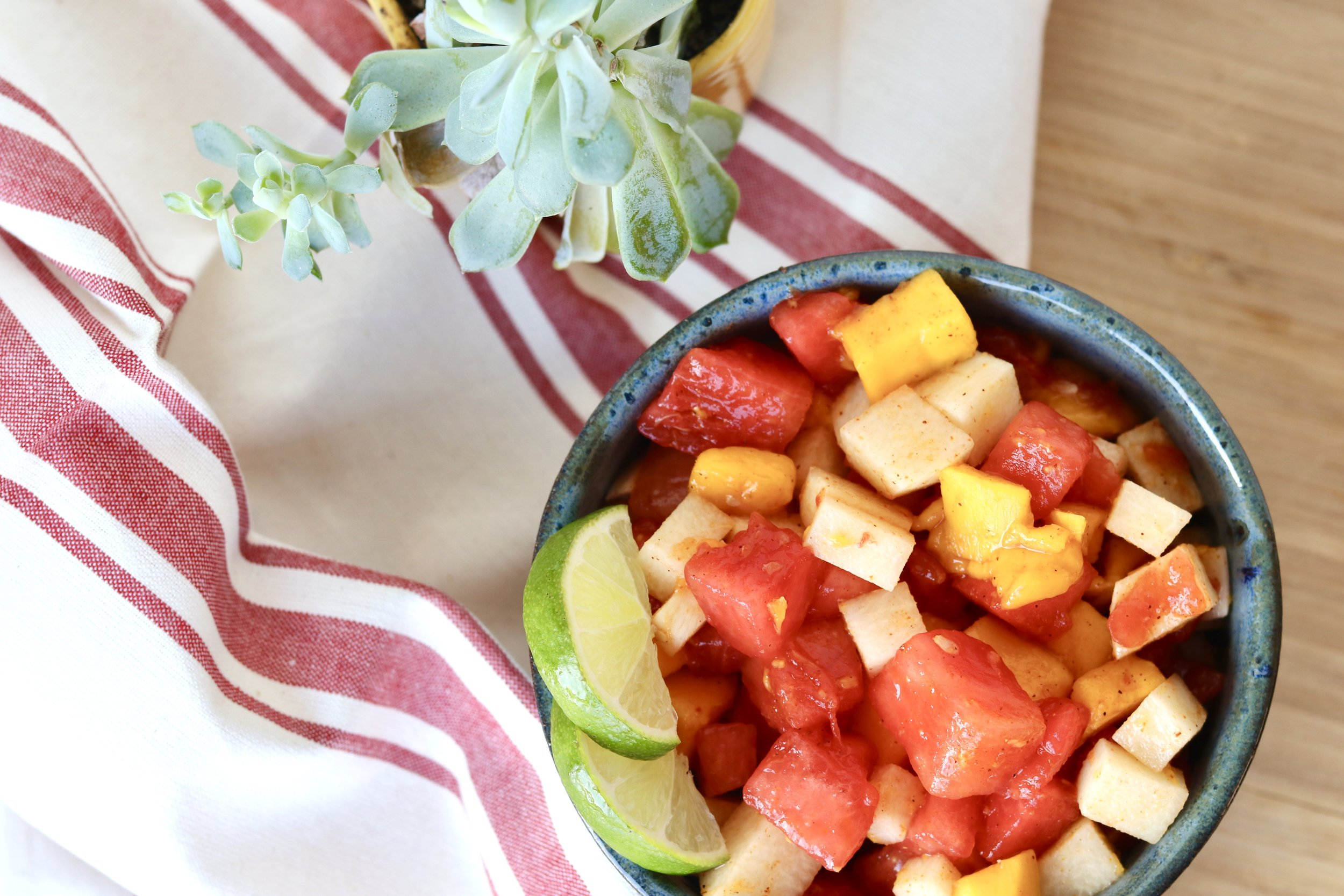 Mexican Street Fruit Salad