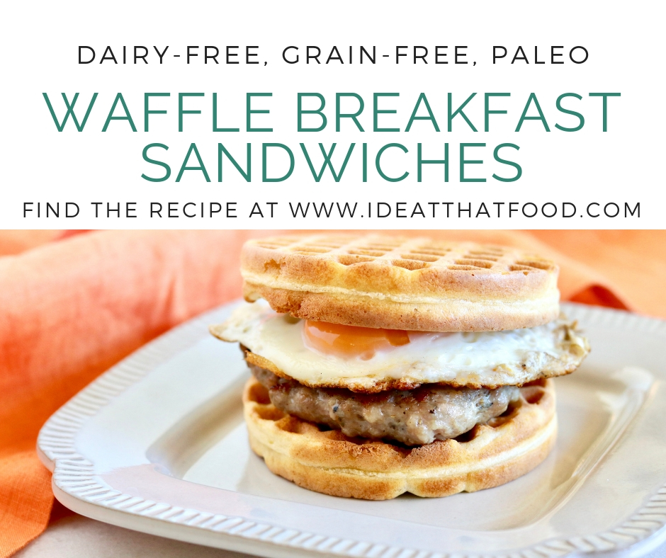 Waffle Breakfast Sandwiches by I'd Eat That Food