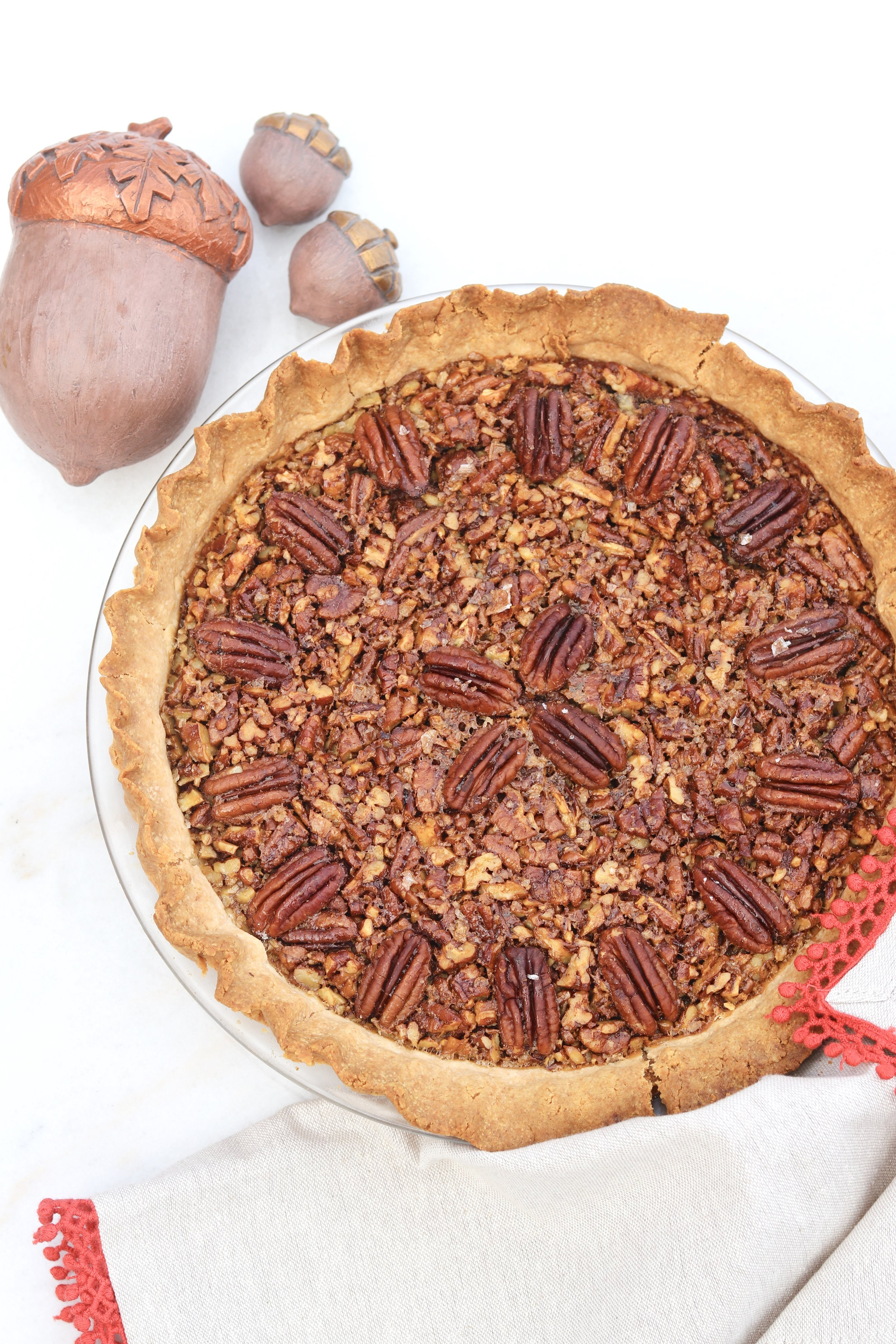 Salted Maple Pecan Pie by I'd Eat That Food