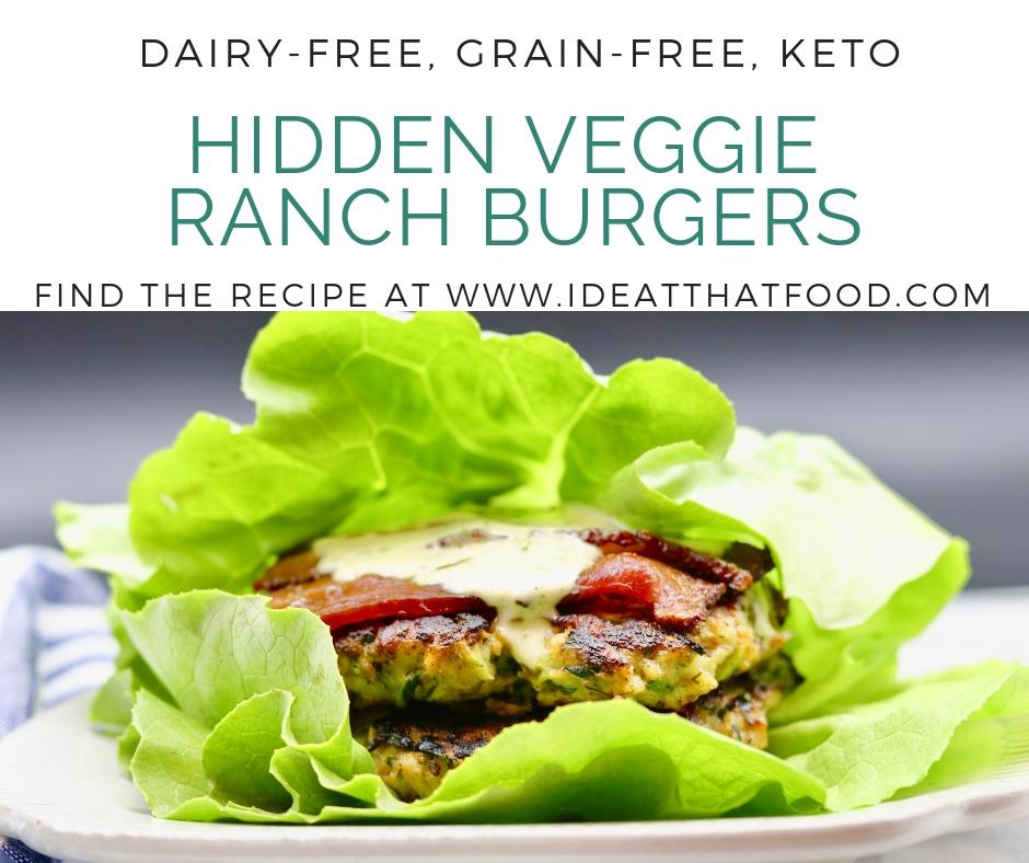 Hidden Veggie Ranch Burgers from Diane Sanfilippo's Keto Quick Start