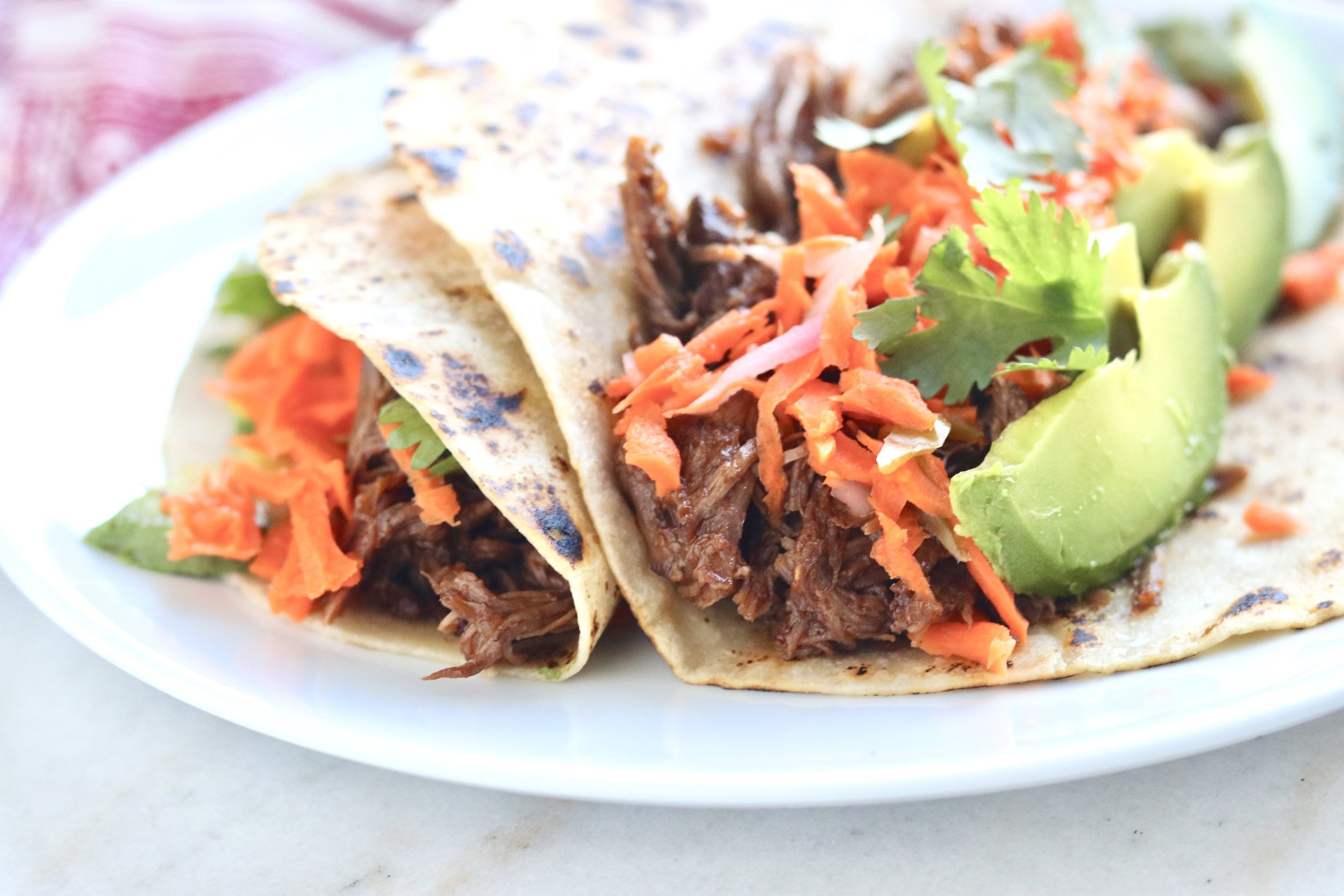 Chipotle Short Rib Tacos by I'd Eat That Food