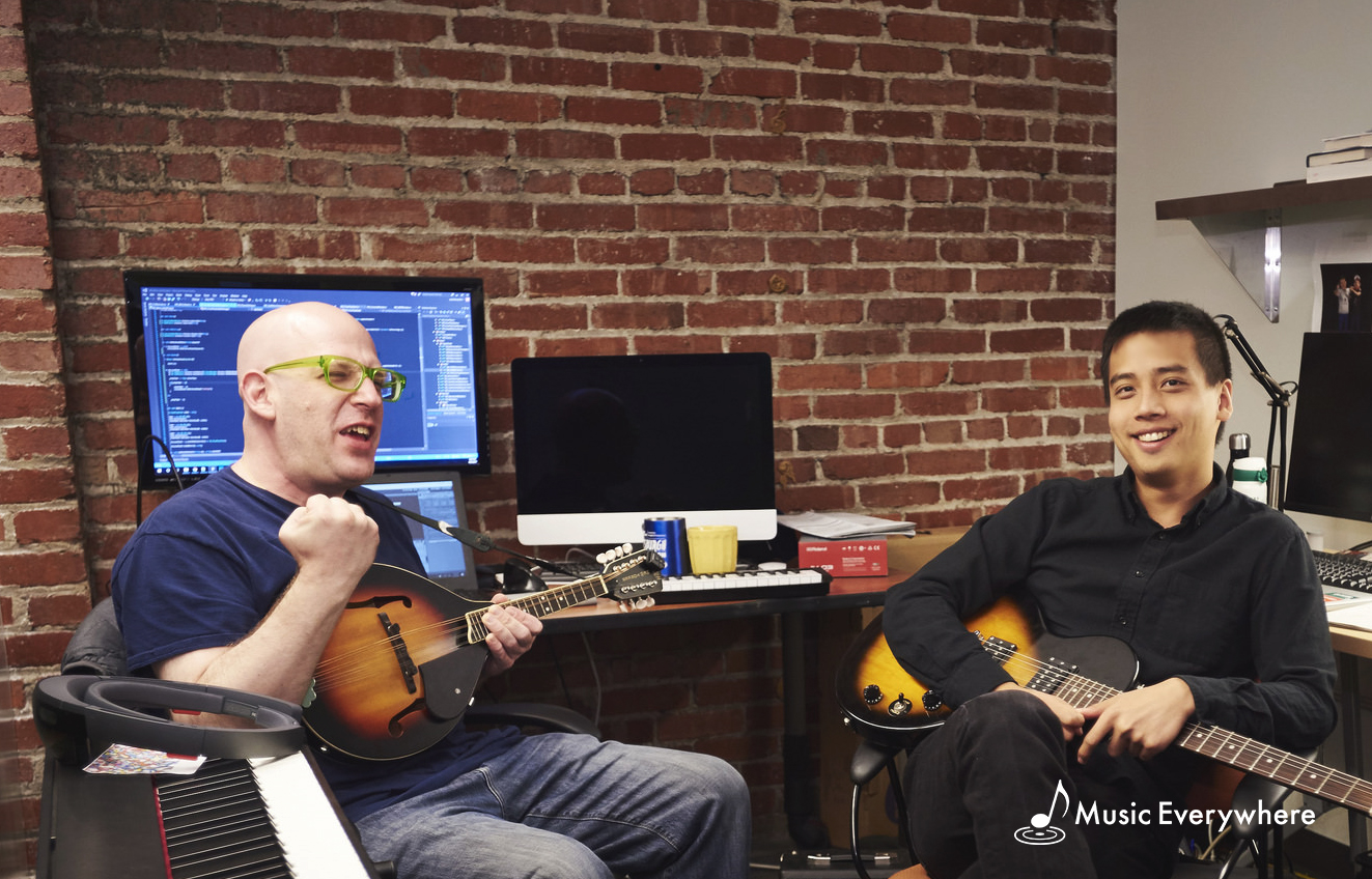 Left: Seth Glickman - CEO / CTO Right: FuYen Hsiao - Designer