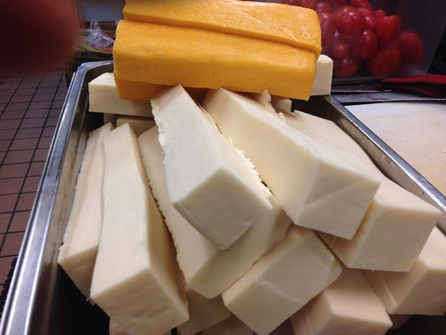 Pure, Uncut, Organic Cheddar and Mozarella Cheese. Mac&Cheese anyone?  #foodrescue #nonprofit #pioneersquare #seattle