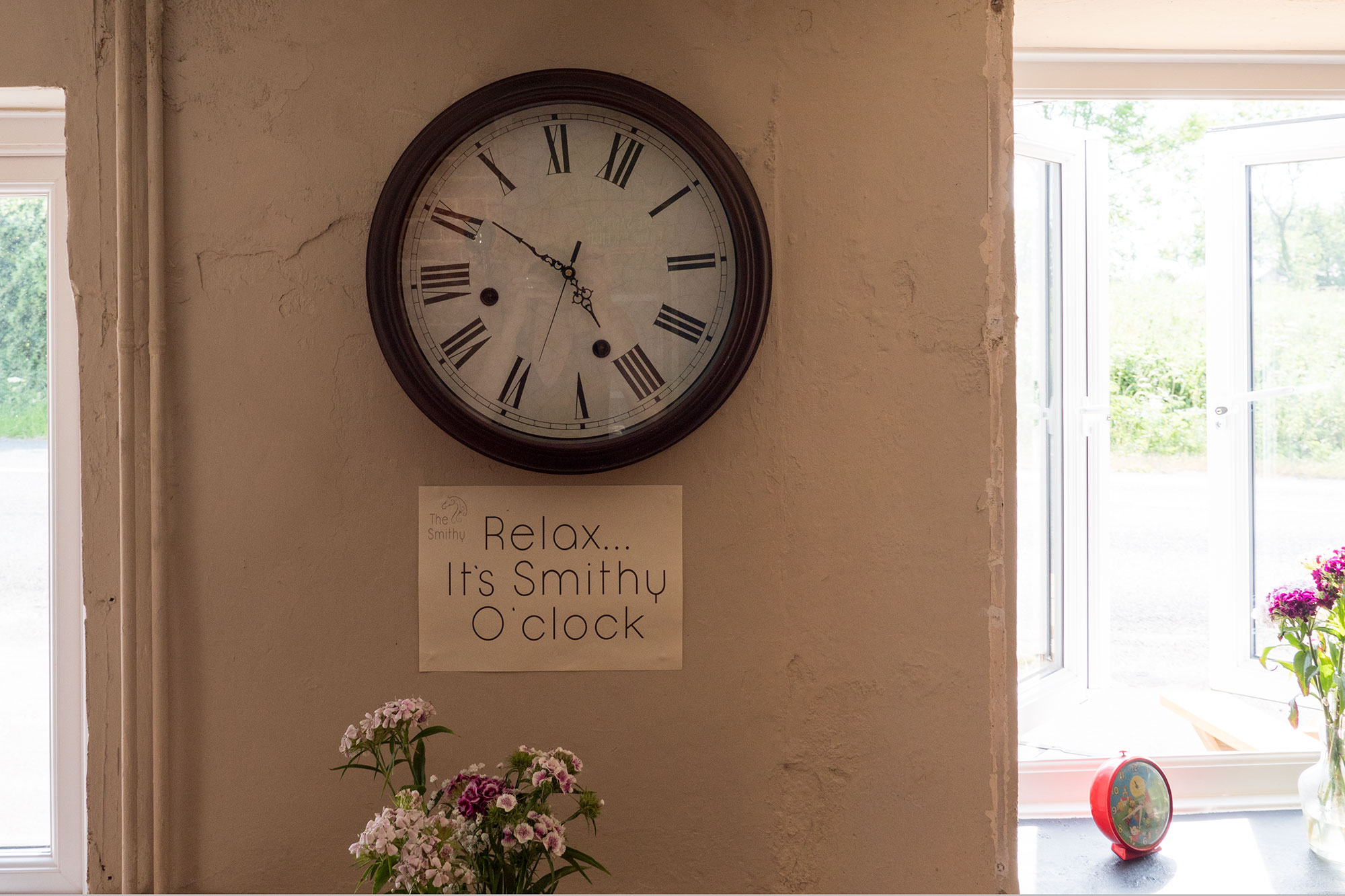 It's Smithy O'clock
