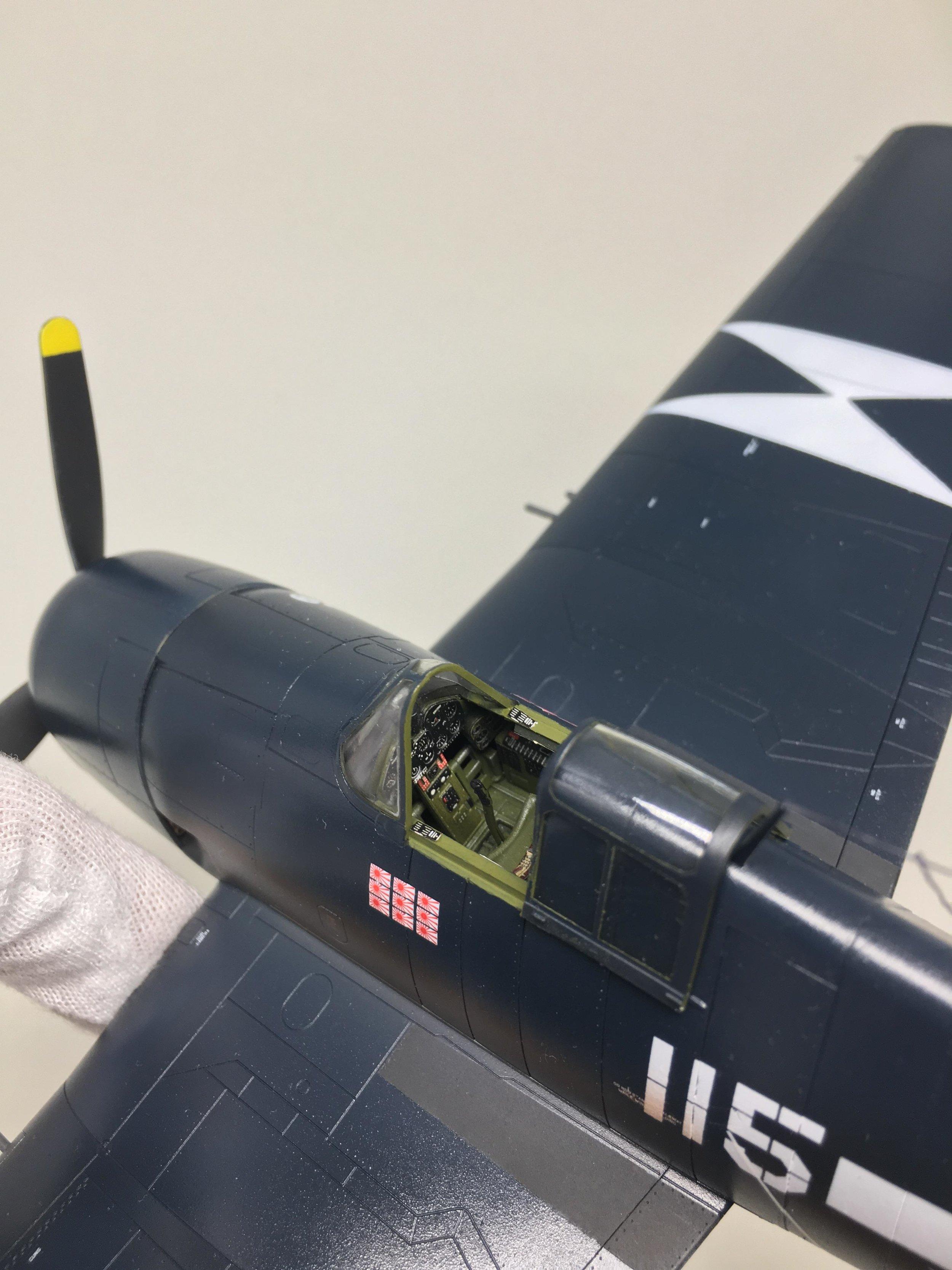 F6F-5 Hellcat Anders Quigg Eduard - 1/48