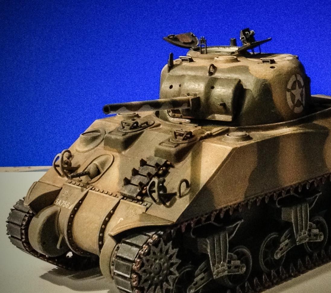 M4-A1 Shereman Paul Anna Tamiya - 1/35