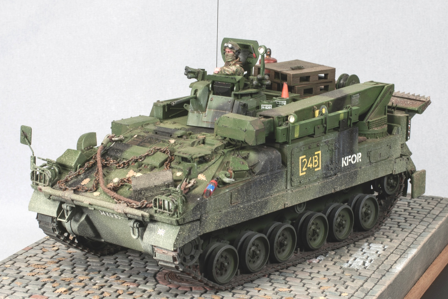 FV510 Warrior MRV(R) - Scale: 1/35Manufacturer: Accurate Armour