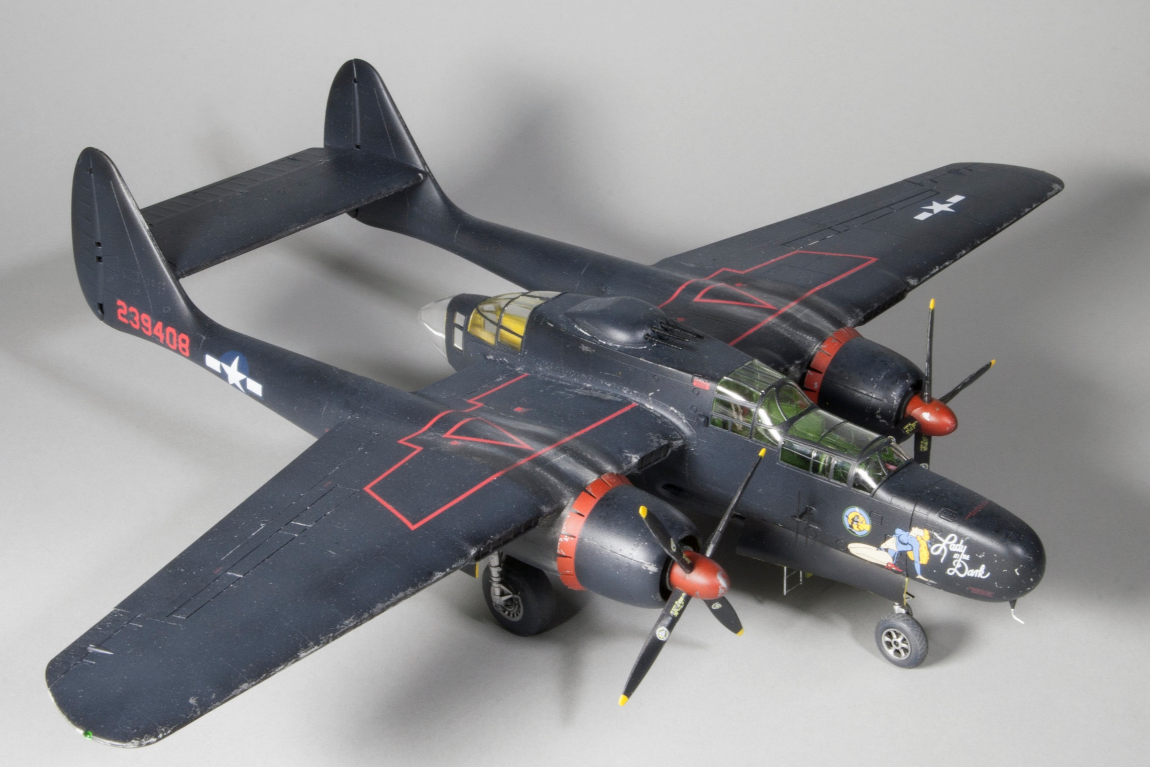 P-61 - Scale: 1/48Manufacturer: Need
