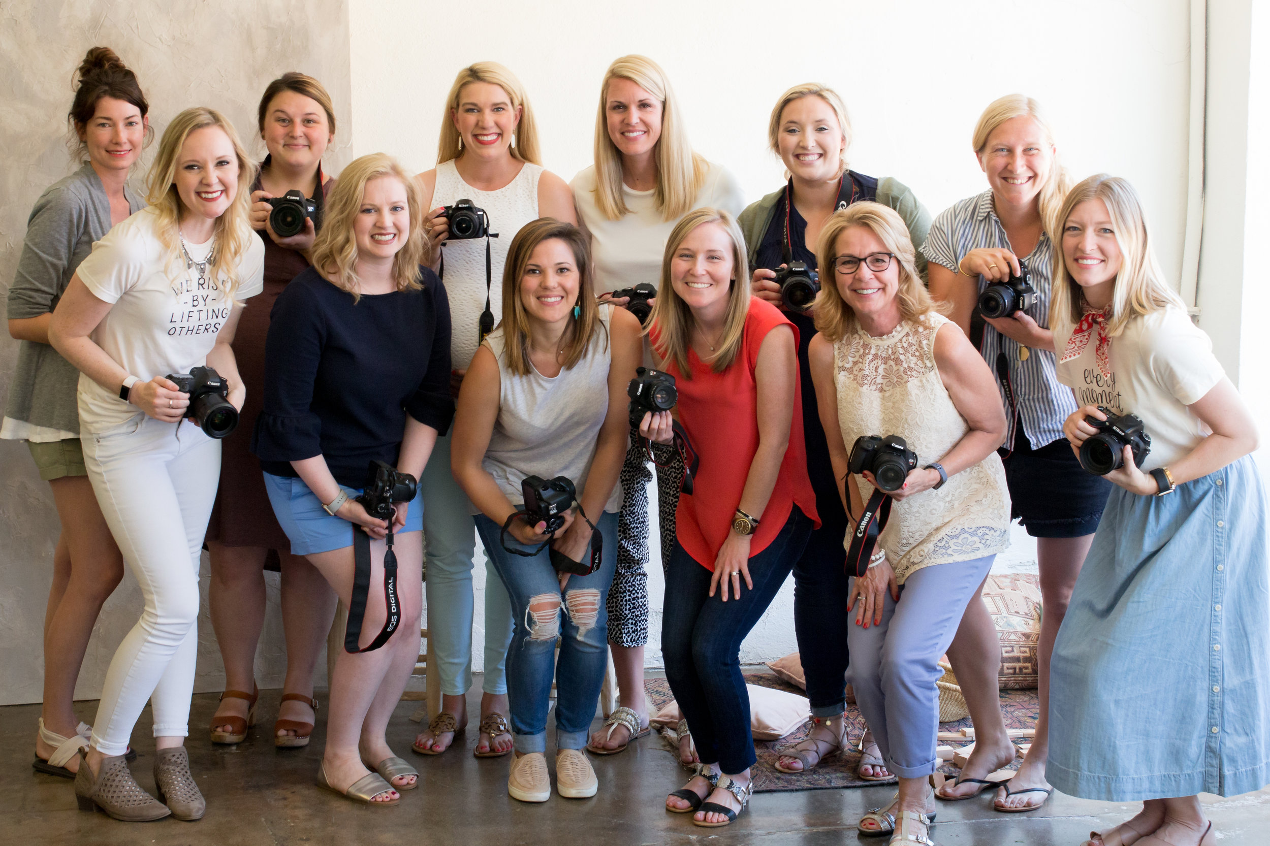 Kindred Photography Workshop  Tulsa Attendees, Image by  Tina Lynn Photography