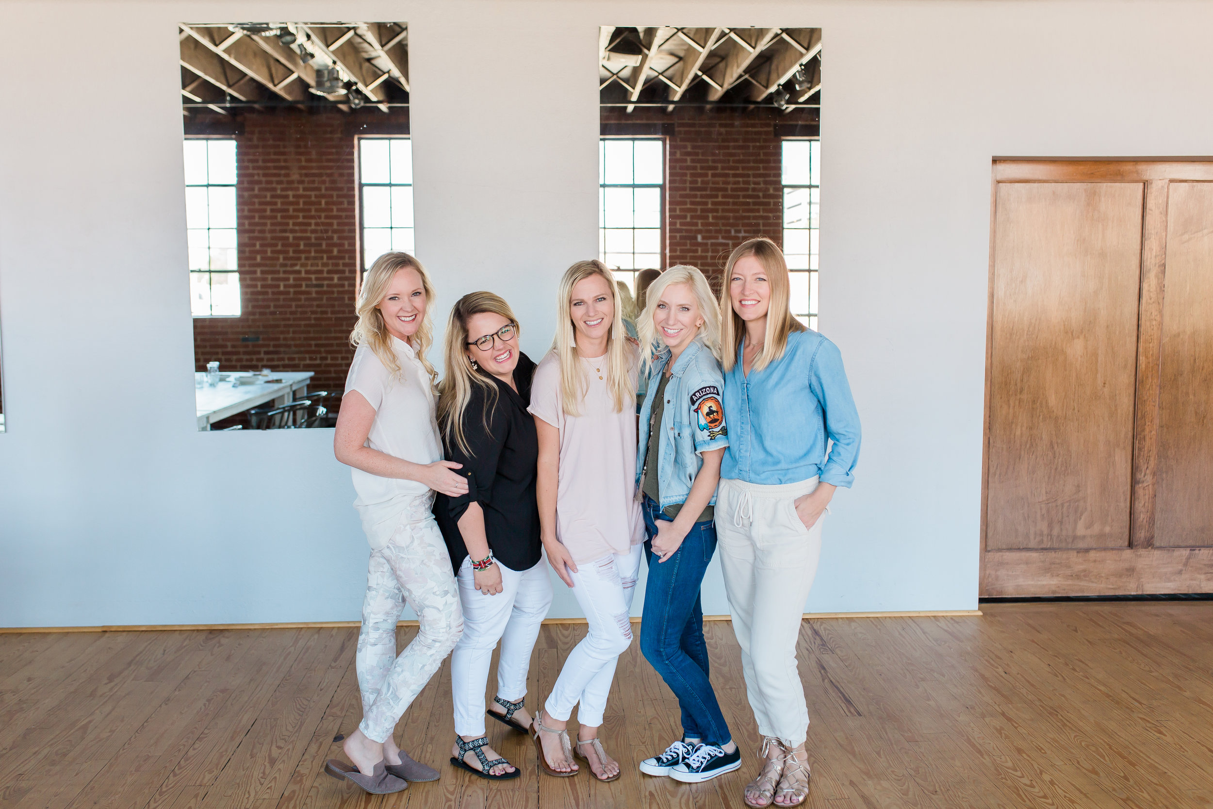 Our featured photographers for the afternoon were  Letyna Moss  of  Moss Photography , and  Aubrey Lisa  and  Lindsey McClenehan  of  Motion Retreat , Photo by  Lenae Photography
