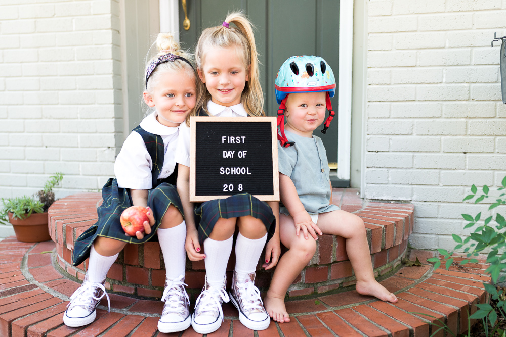 3 Tips for First Day of School Photos by  Kindred Photography Workshops