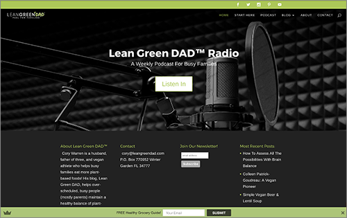 Lean Green DAD Podcast