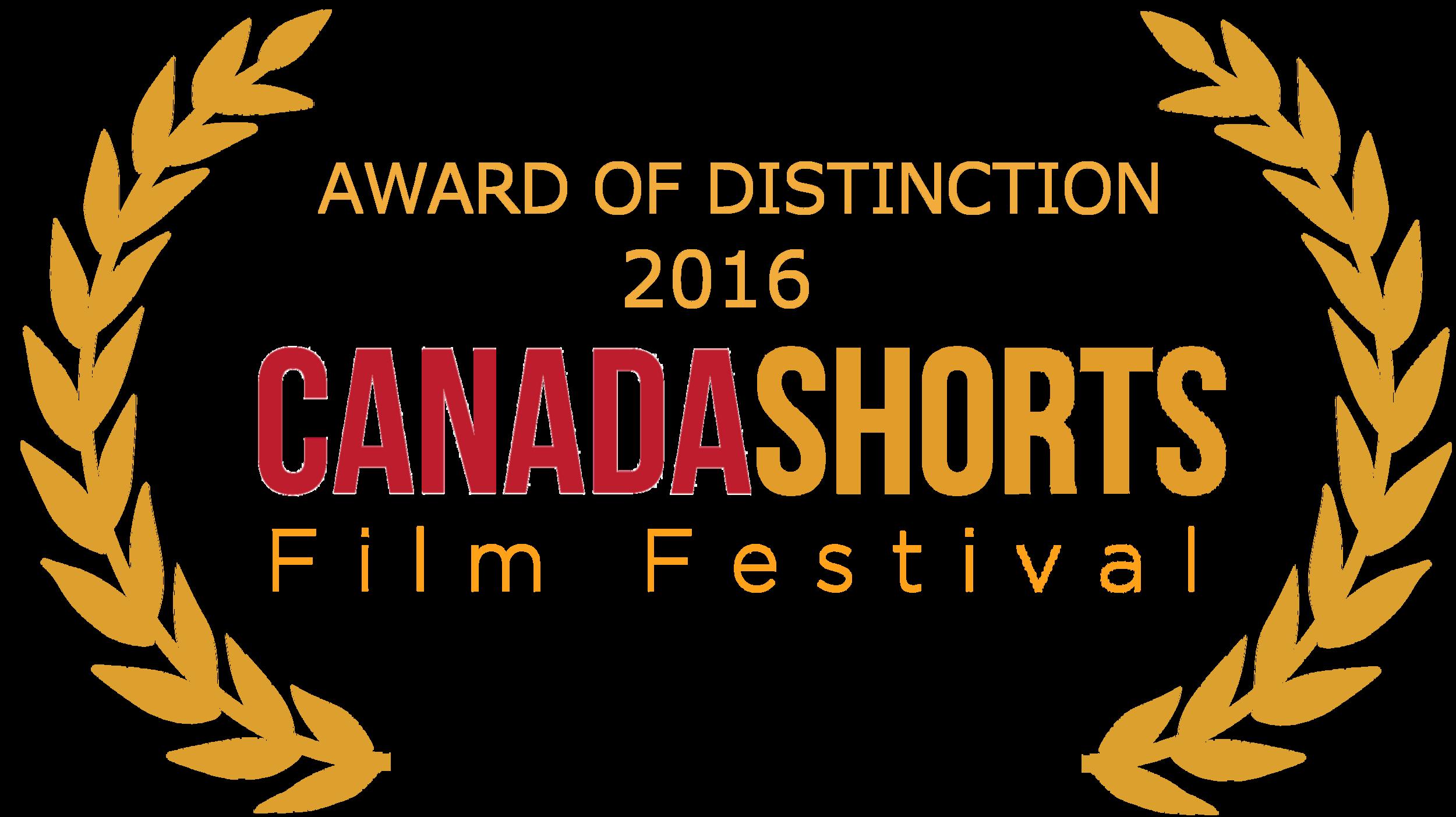 Canada shorts AWARD OF DISTINCTION laurel - gold.png