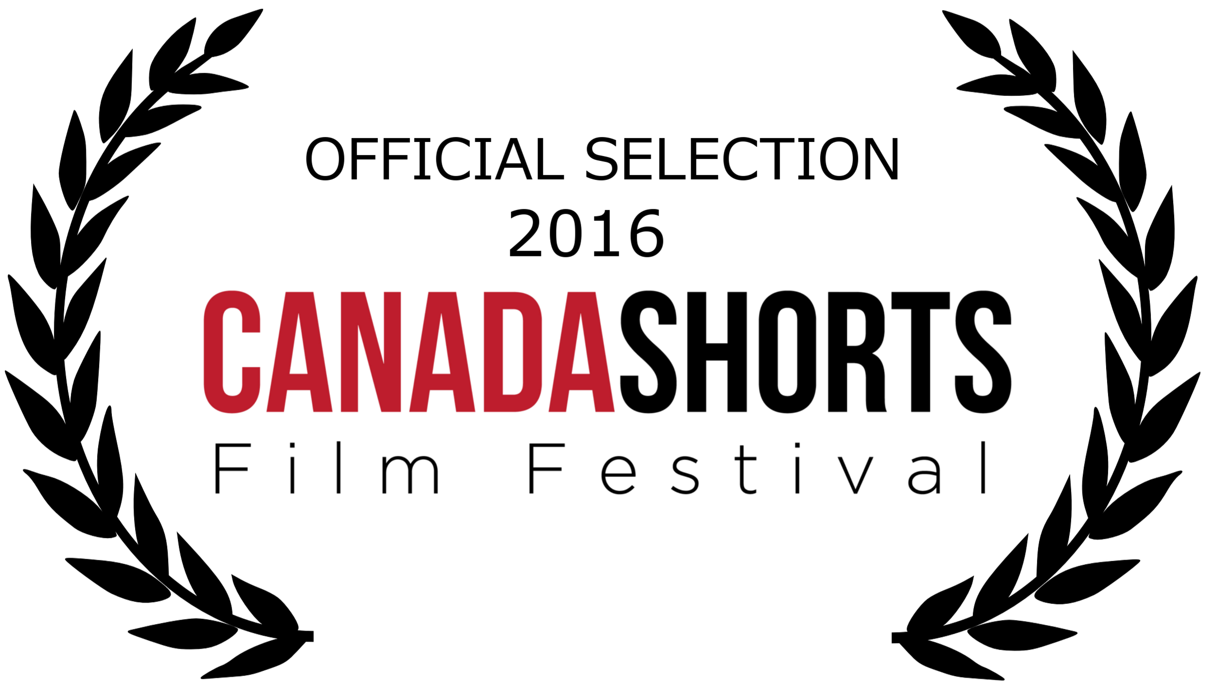 Canada shorts official selection laurel - black.png