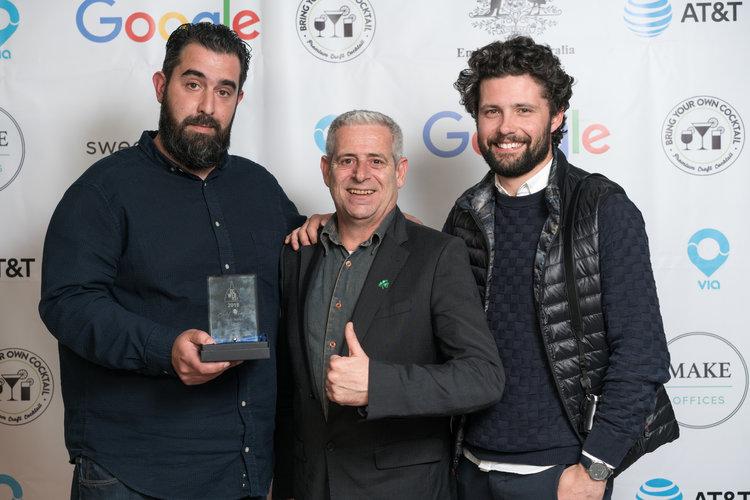 Creators of  Nemausus , with Joël Bassaget (Web Series World Cup Founder)