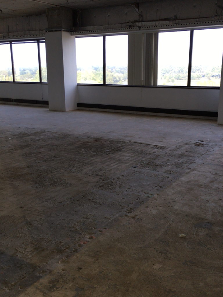 Demo'd Office Before
