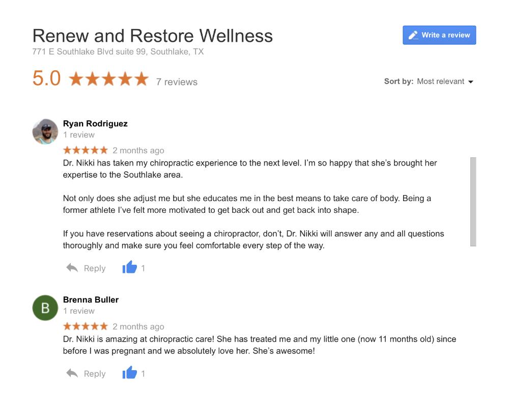southlake/chiropractor/drnikkiporteus/reviews.png
