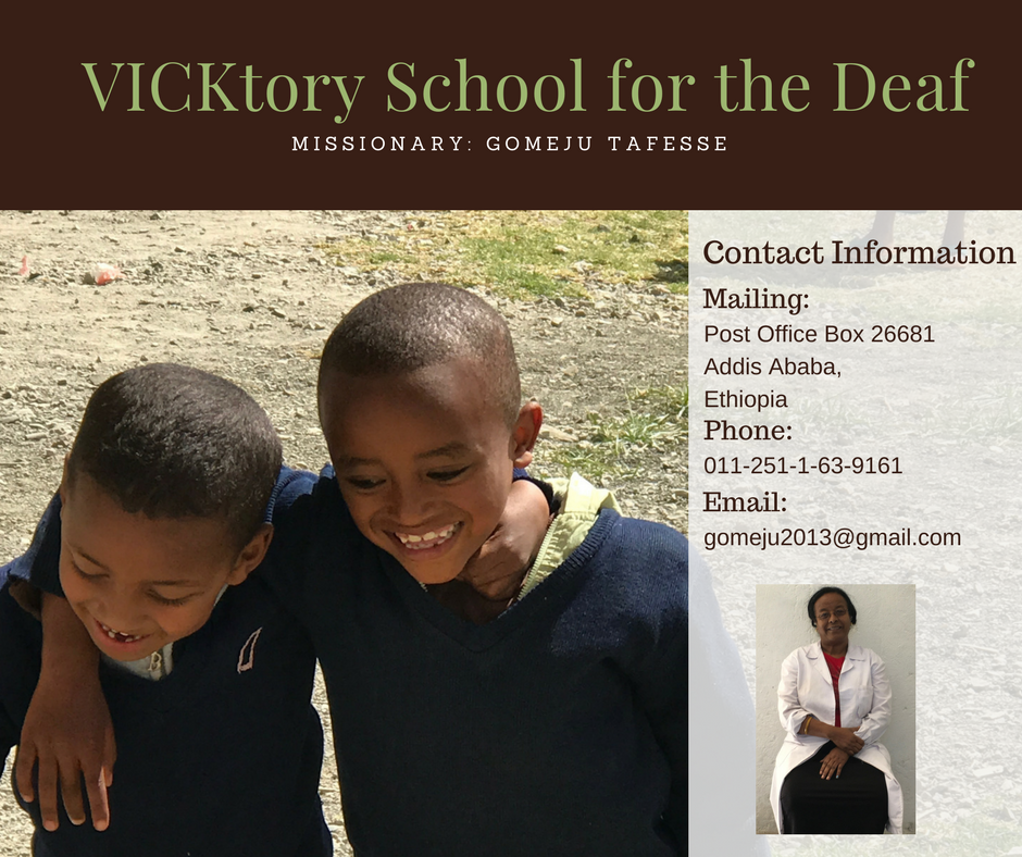 To learn more about VICKtory School for the Deaf, please email  Travis Dykes