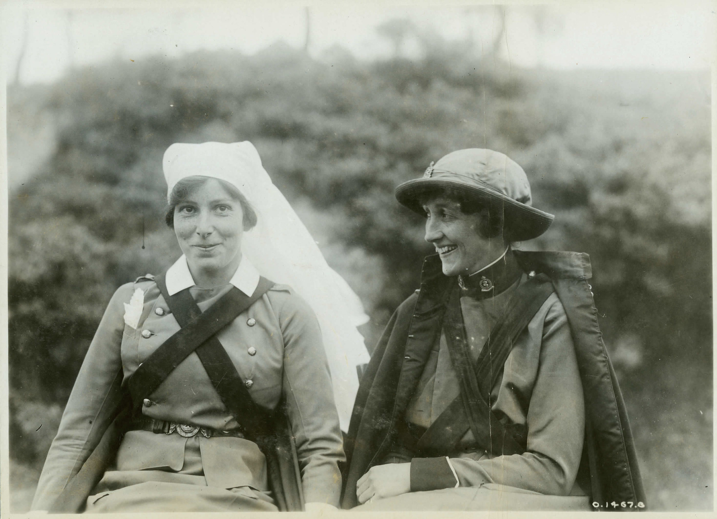 Two Canadian Sisters at the Battle of Passchendaele, 1917