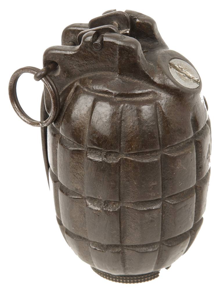 Mills Bomb - The deadly grenades of the First World War