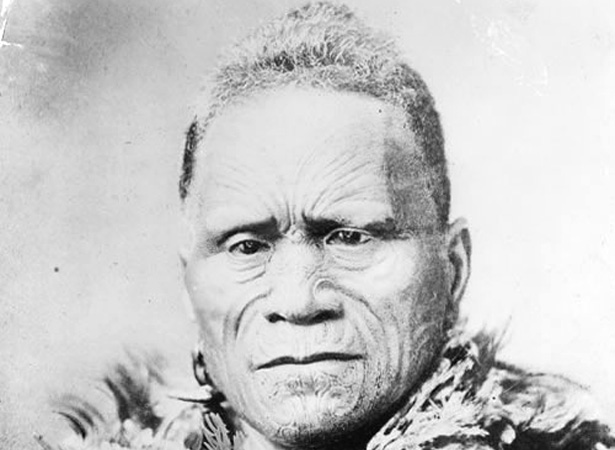 King Tawhiao, Te Puea's Grandfather and the Second Maori King.