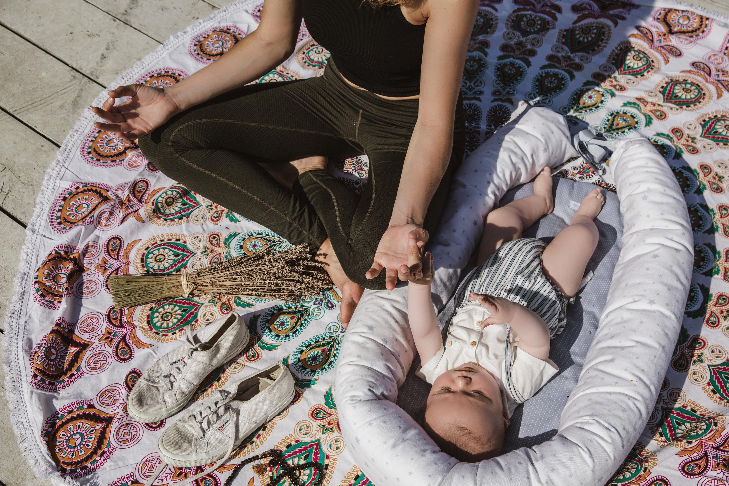 Mummy Baby Meditation