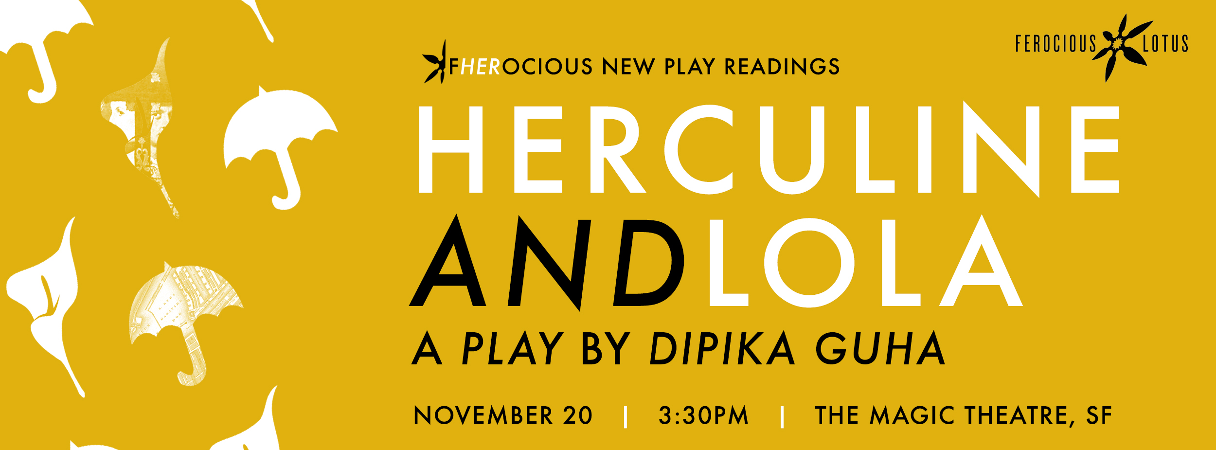 "HERCULINE AND LOLA , by  Dipika Guha    Nov. 20 | Sunday | 330p  Directed by  Desdemona Chiang  While vacationing in Amsterdam, American teenager Lola begins to hallucinate. A century earlier, frustrated and misunderstood, schoolteacher Herculine  retreats into a solitary white room.  Herculine and Lola  is a story about two people united by the power of their imagination and by love--inspired by the diary of the first ""true hermaphrodite"" Herculine Barbin.  Featuring Esperanza Catubig*, Keiko Shimosato Carreiro*, Rob Dario, Melissa Locsin*, Charisse Loriaux*,   Mohammad Shehata*,   Beverly Sotelo*, Ogie Zulueta*"