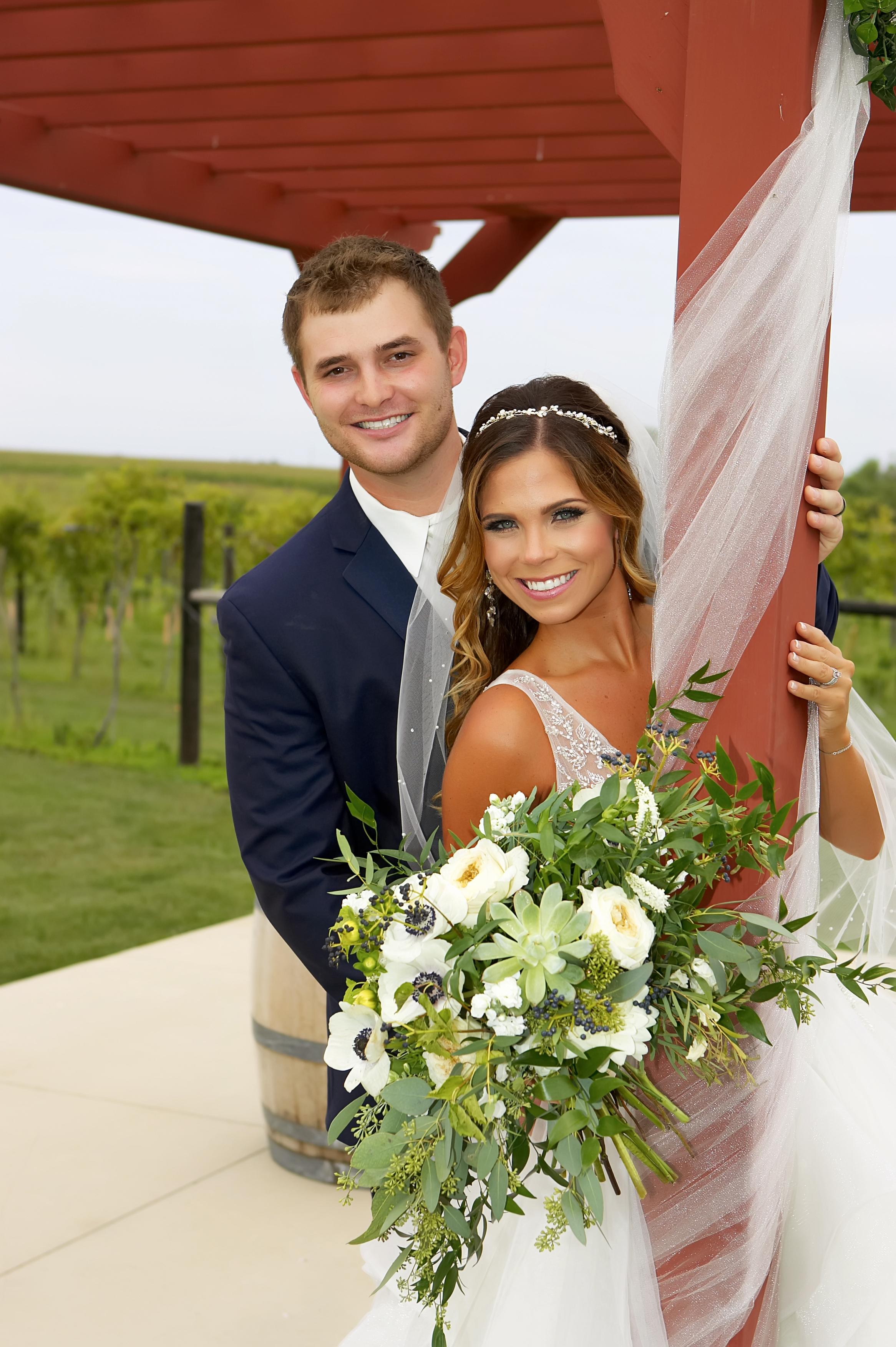 Sarah +Brandon -