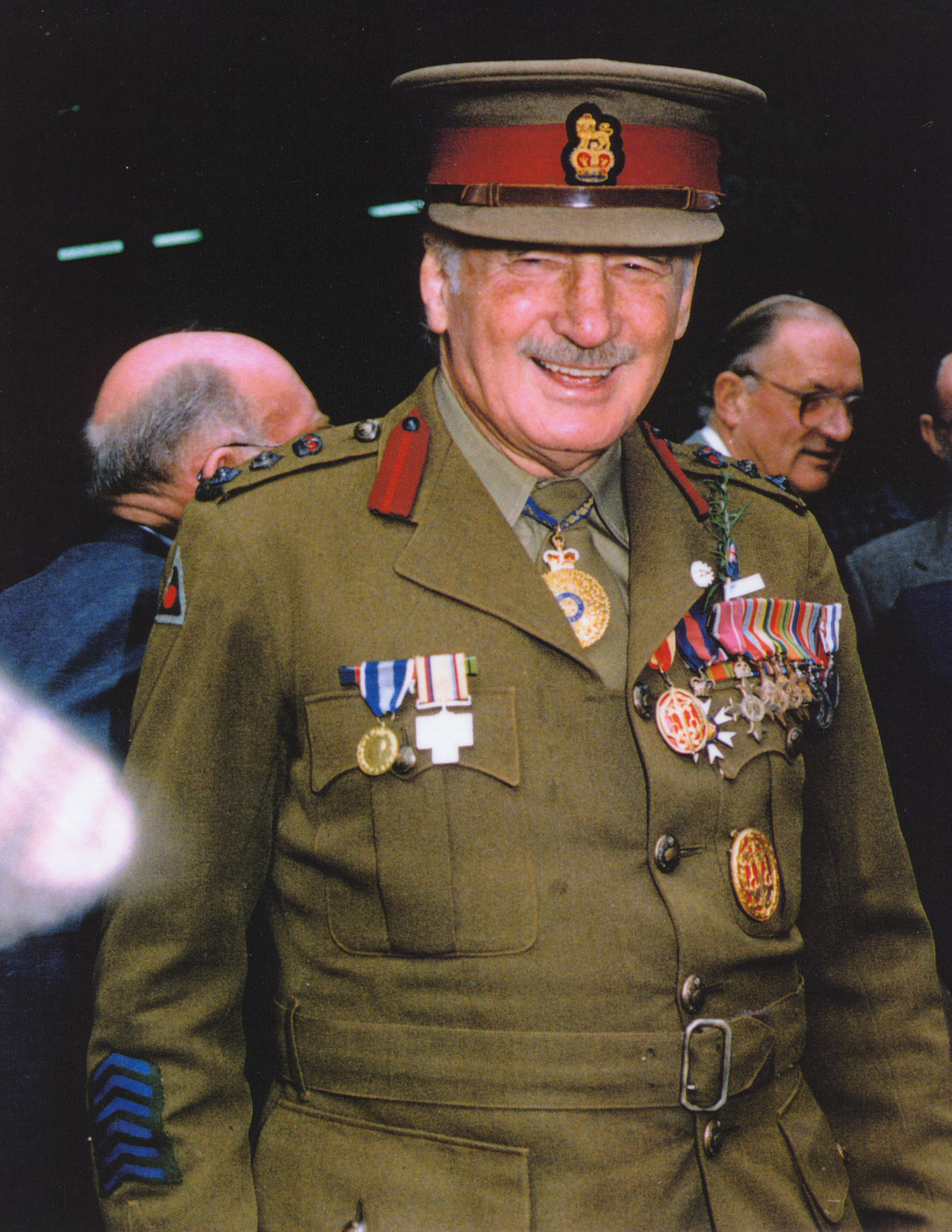 Colonel Sir Ernest Edward 'Weary' Dunlop