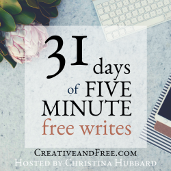 31 Days of 5 minute Fridays