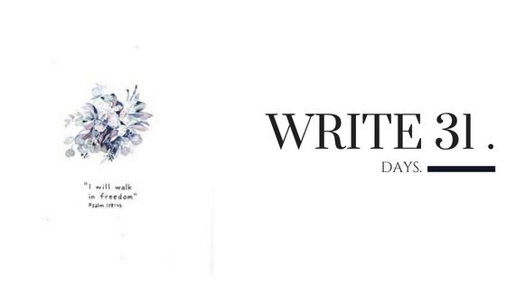 Kara Nothnagel - Write 31 Days - Live